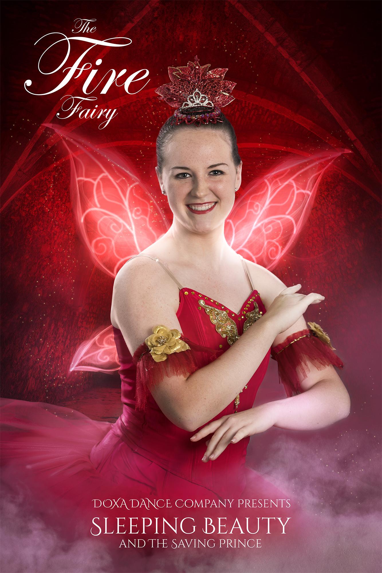 Sleeping Beauty Fire Fairy
