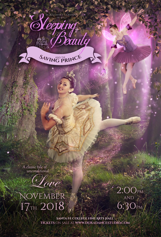 2018 Sleeping Beauty and the Saving Prince Poster